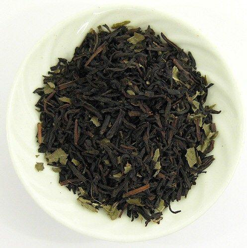 Thé noir au cassis