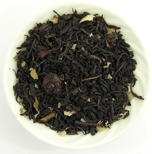 Thé noir à la mûre sauvage
