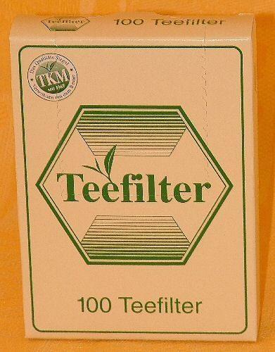 Boite 100 filtres papier