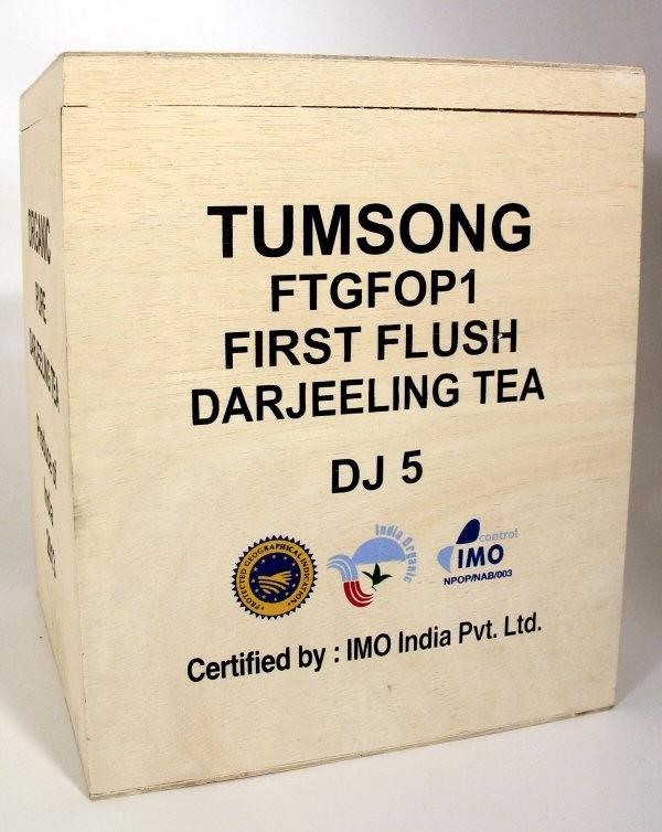 Thé de Darjeeling, Tumsong FTGFOP DJ5 bio